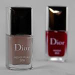 Dior-Nagellacke in herbstlichen Farben
