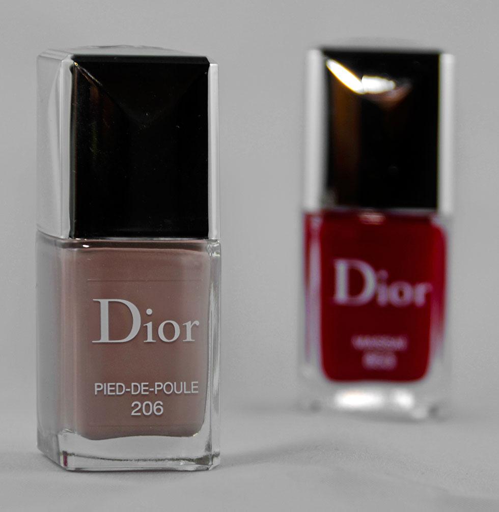 Pied-de-poule und Massai: Dior-Nagellacke in Herbstfarben