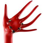Swarovski Bouquet Armband auf einem Schmuckständer