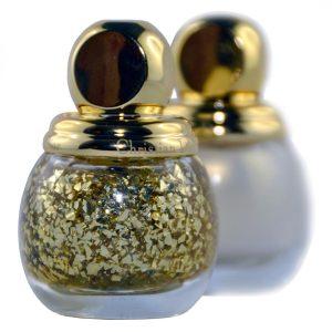 Dior Diorific Vernis Golden Shock Top Coat mit Goldpartikeln