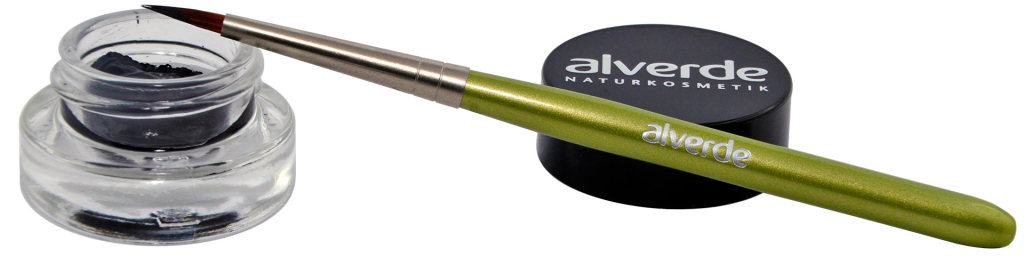 Alverde Gel-Eyeliner mit (optionalem) Pinsel