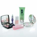 Make-up-Sammlung für Reisen