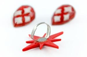 Ring und Ohrringe von Glitter Paradise
